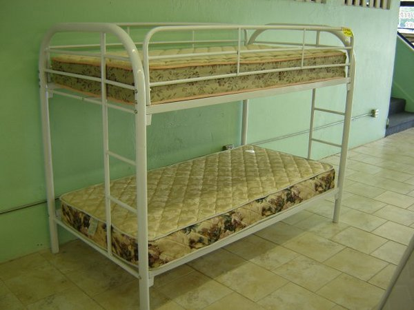 Metal Bunk Bed With Mattresses Call A Mattress