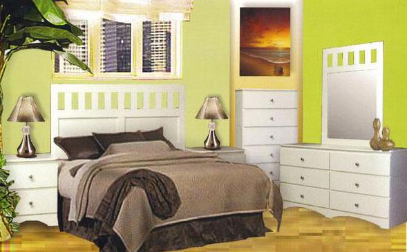 6 Piece Sizzler Bedroom Set