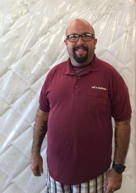 Meet Don, Don has been with us for over 2 years.  Don can do it all.  He can sell you the bed  of your dreams and then deliver it to you the same day.