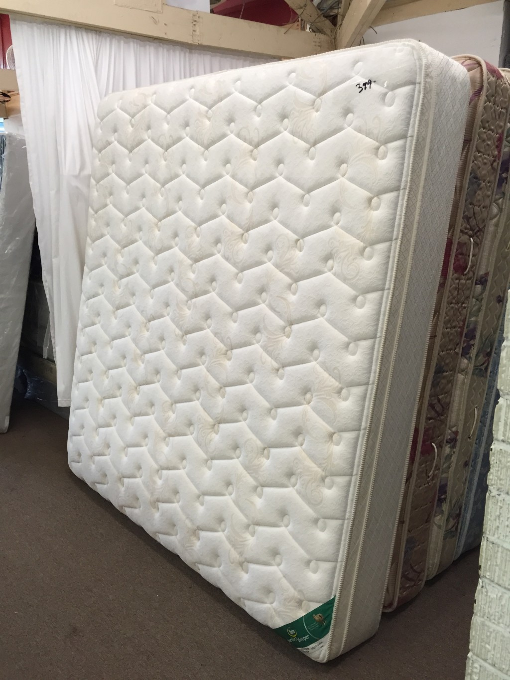 King Matress Cloud Supreme Breeze Queen Mattress And Foundation By Tempurpedic Sleep Master