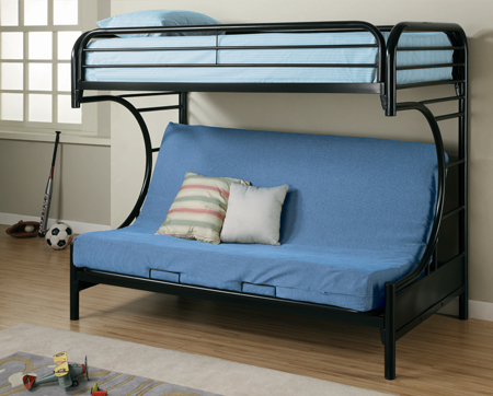 New Futon Bunk Bed With Mattresses Call A Mattress - Futon bunk bed with mattresses
