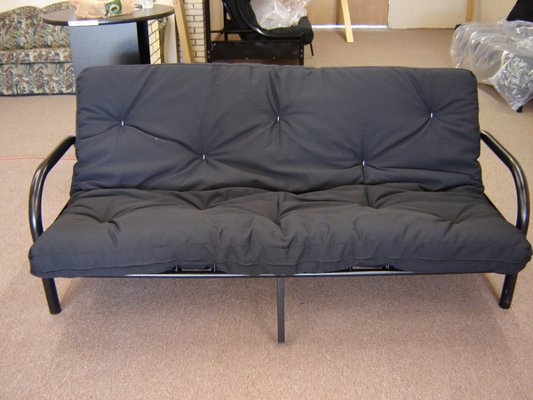 Gently used futon with mattress only $129