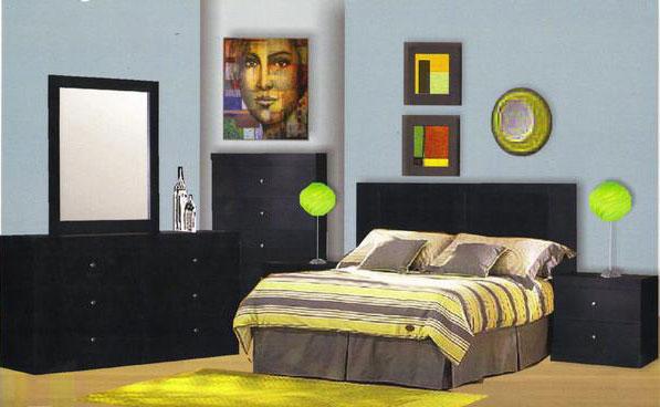 Milano 6-Piece Bedroom Set Only $599